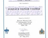 Surface Repair