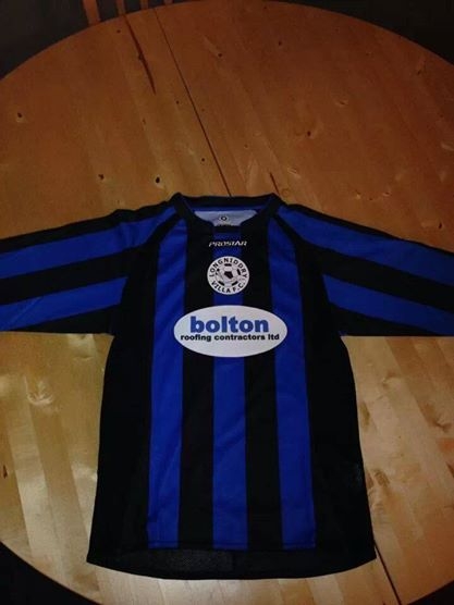 Longniddry Villa & Colts football strip